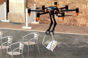 Prodrone - Discloses the World's first Robotic Arms Drone