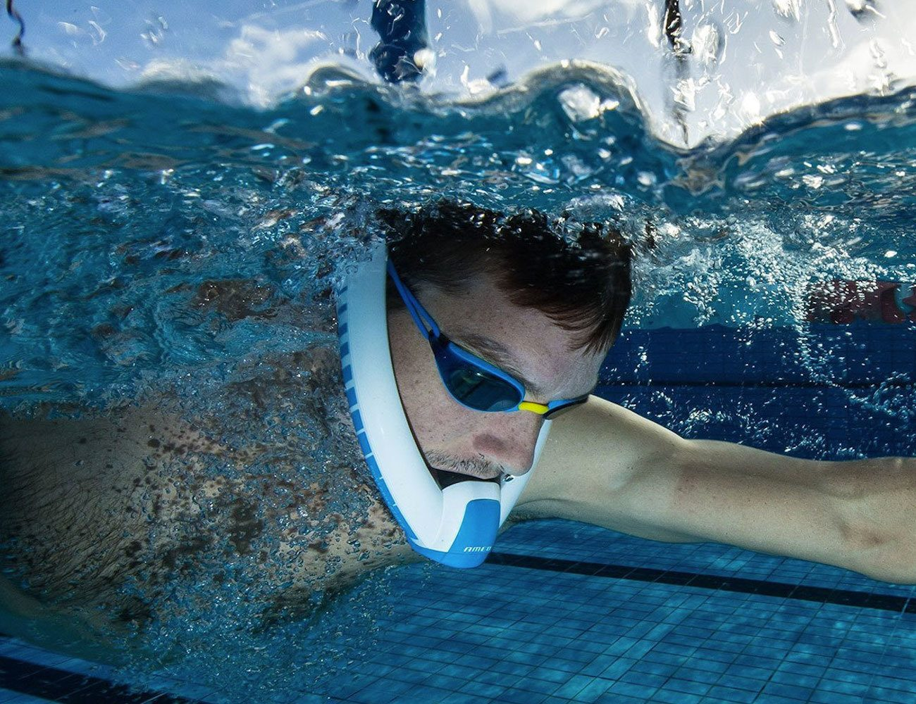 Powerbreather Wave- Under Water Breathing Device for Swimmers