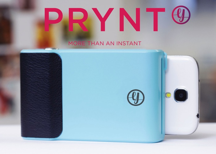 new style 54780 d0b69 Prynt iPhone Case- Print Snaps Instantly & Portably - 55 Gadgets