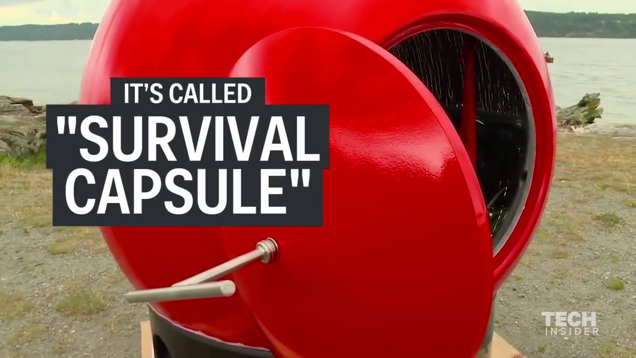 Survival Capsule is the ultimate solution