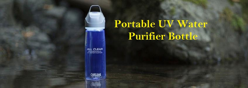 CamelBak All Clear – Portable UV Water Purifier Bottle