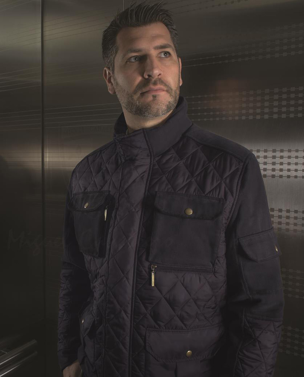 Bulletproof stylish coat