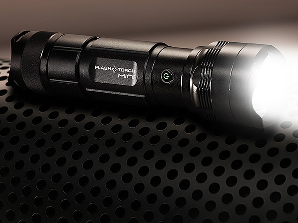smallest burning flashlight