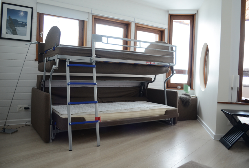Sofa and Bunk Bed 2 in 1