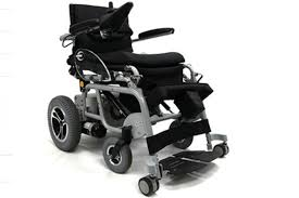Patients can stand up in this wheelchair