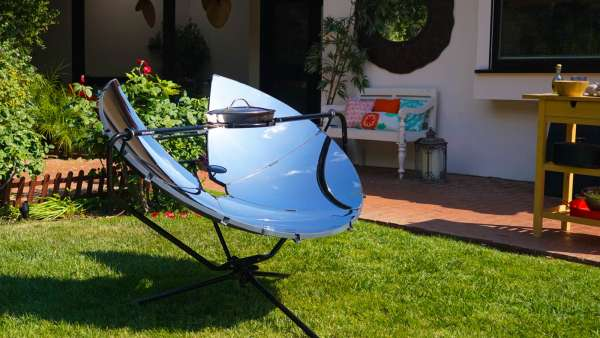 SOLSOURCE Solar Cooker: Cook Anywhere Under the Sun
