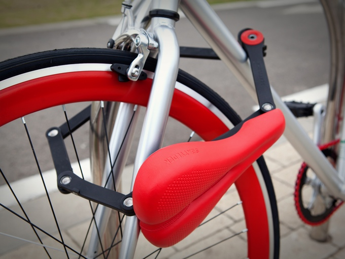 Seatylock : The One Best Way to Prevent Saddle Theft