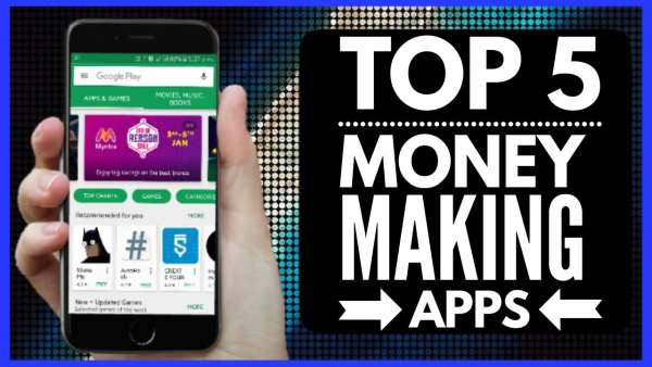 Top-5 IOS-Apps Make Money Online