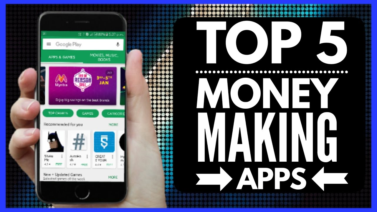 earn money apps 2019 top 5 ios apps make money online 55 gadgets 4494