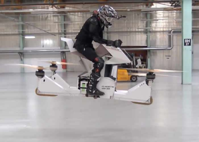 Scorpion 3 Flying Bike