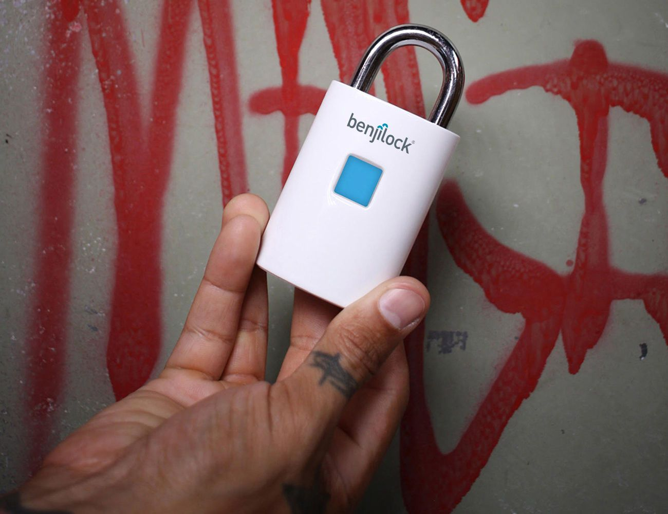 BenjiLock Rechargeable Fingerprint Padlock
