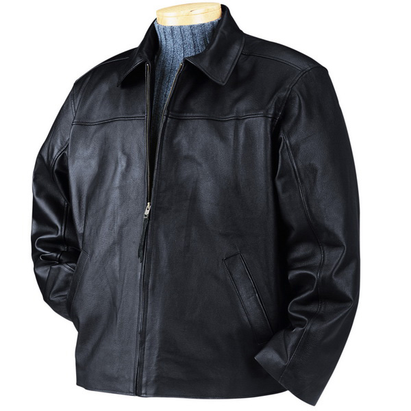 bullet blocker bulletproof-leather-jacket