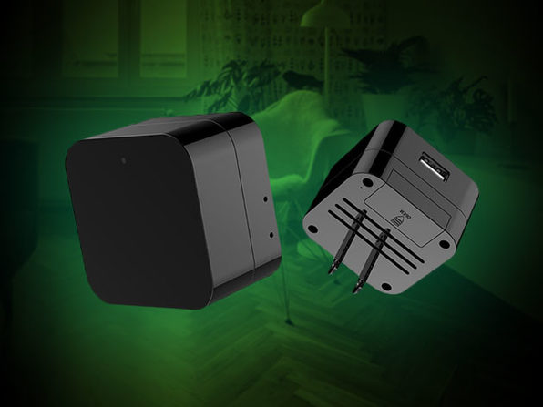 WiFi Hidden Camera Wall Charger With Night Vision