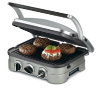 3-in-1 Grill, Griddle, and Panini Press