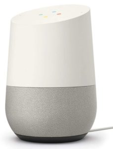 'Google Home' Voice Activated Speaker