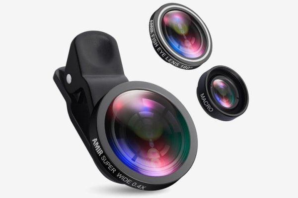 AMIR CLIP-ON SMARTPHONE CAMERA LENSES