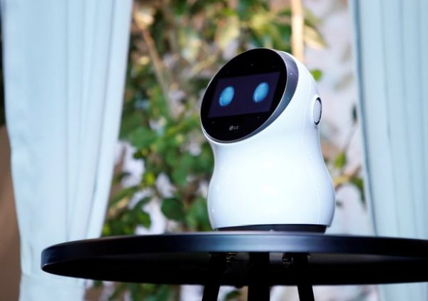 LG executives are left red-faced after the firm's CLOi smart robot
