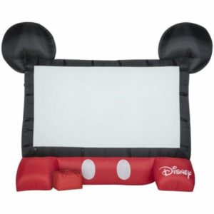 Gemmy Airblown Inflatable Mickey Mouse Outdoor Movie Screen