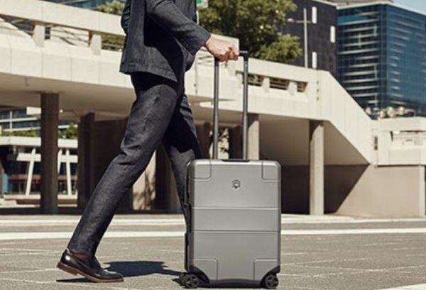 Smart Carry-On Suitcase
