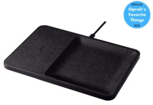The Courant Wireless Charging & Accessory Tray