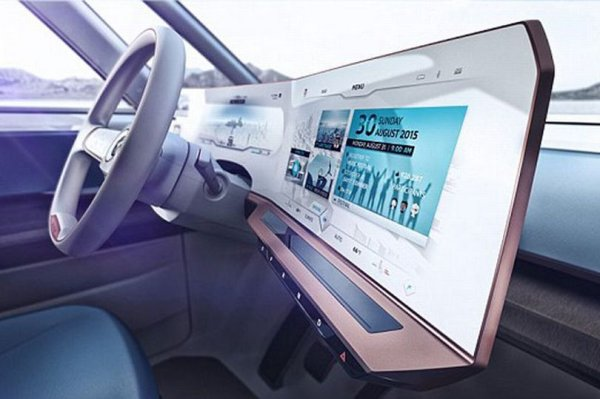 Volkswagen's futuristic car with gesture-controlled dashboard