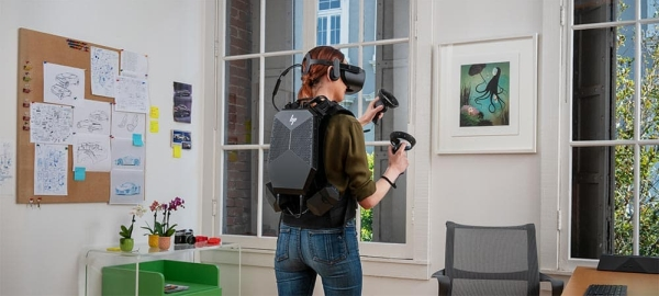 Beyond Gaming Embracing Portability with the HP VR Backpack G2