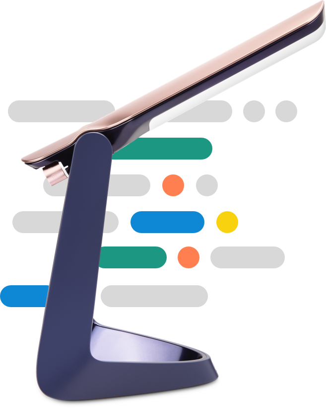 Lexilight dyslexia reading lamp