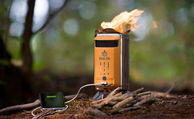 BioLite CampStove 2 Electricity-Generating Wood Burner