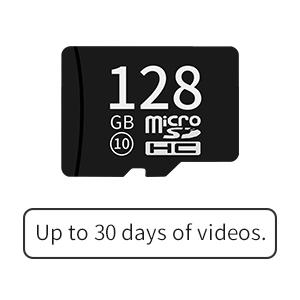 128GB micro SD card supported