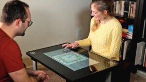 play games on table