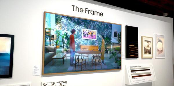 Samsung's back with The Frame TV